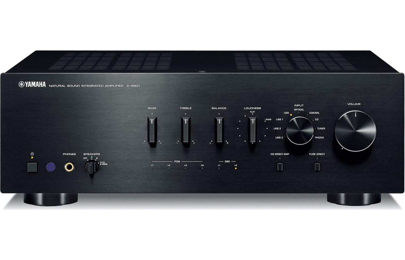 yamaha a s801 integrated amplifier and yba 11 bluetooth. Black Bedroom Furniture Sets. Home Design Ideas